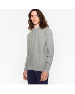 Men's Grey Organic-cotton Sweatshirt