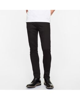 Men's Skinny-fit 10oz 'stay Black' Stretch-denim Jeans