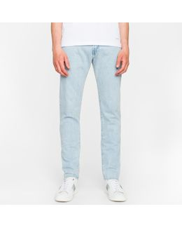 Men's Standard-fit 13oz 'unlucky Red Selvedge' Raw Denim Jeans