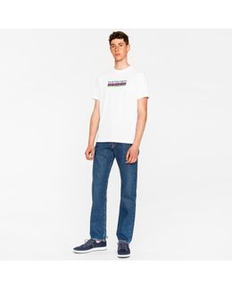 Men's Standard-fit Mid-wash 12oz 'pepper 'n' Salt' Organic-cotton Jeans