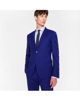 The Kensington - Men's Slim-fit Indigo Wool 'suit To Travel In'