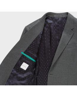 The Byard - Men's Tailored-fit Dark Grey Wool Suit