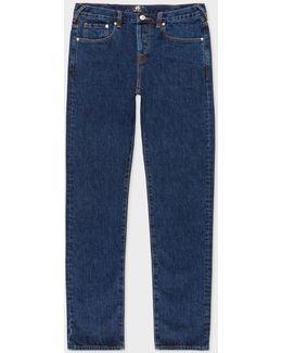 Men's Slim-standard Dark-wash 'amazing Strong Denim' Jeans