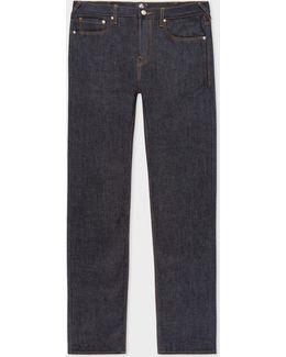 Men's Slim-standard Indigo 'amazing Strong Denim' Jeans