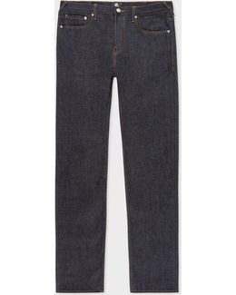 Men's Slim-standard Indigo 'amazing Strong Denim' Jeans