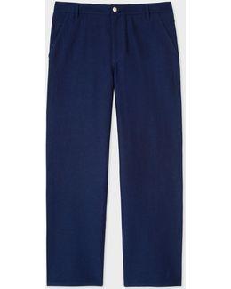 Men's Indigo Carpenter Trousers