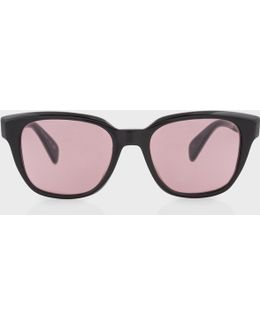 Onyx And Viola 'hether' Sunglasses