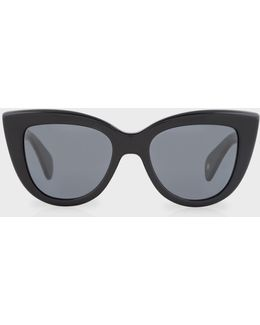Onyx And Grey 'lovell' Sunglasses