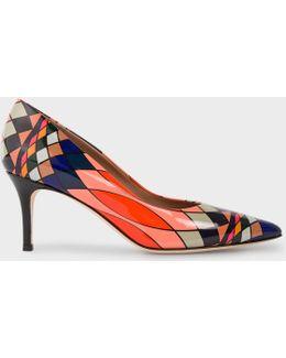 No.9 - Women's Multi-coloured Patent Leather 'daphnis' Shoes