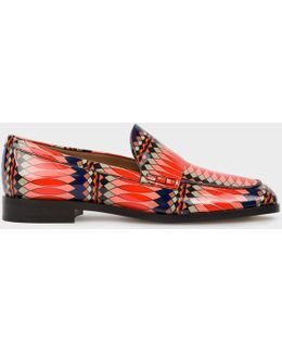 No.9 - Women's Multi-coloured Patent Leather 'hasties' Loafers