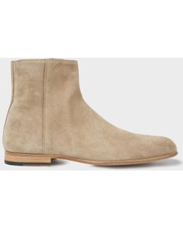 Men's Taupe Suede 'maurice' Boots