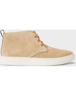 Men's Taupe Suede 'fong' Chukka Boots