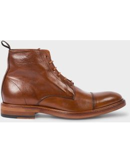 Men's Dip-dyed Tan Calf Leather 'jarman' Boots