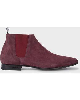 Men's Damson Suede 'marlowe' Chelsea Boots