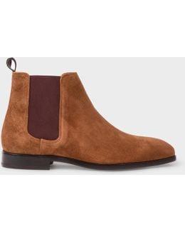 Men's Tan Suede 'gerald' Chelsea Boots