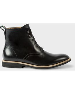 Men's Black Calf Leather 'hamilton' Boots