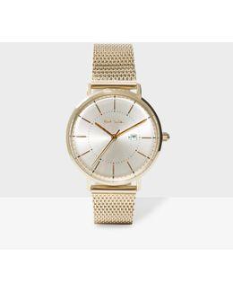 Unisex Gold 'petit Track' Watch