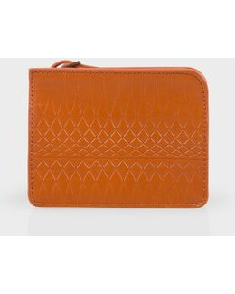 No.9 Light Brown Leather Wallet Pouch