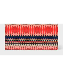 No.9 - Women's Multi-coloured Patent Tri-fold Leather Purse