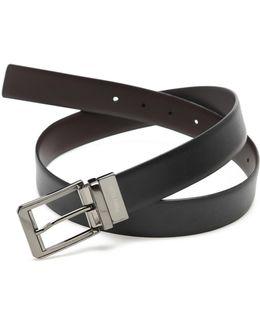 Iron Man Reversible Leather Belt