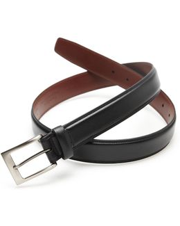 Big And Tall Timothy Leather Belt