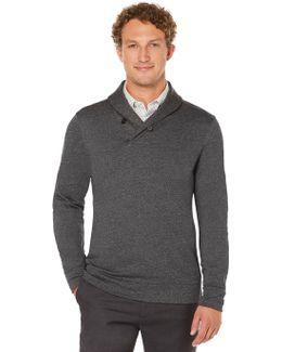 Big And Tall Shawl Collar Pullover