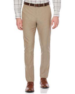Very Slim Solid Tan Suit Pant