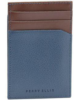 Front Pocket Magnetic Clip Wallet