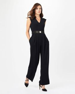 Adelaide Belted Jumpsuit