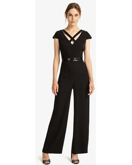 Anya Belted Jumpsuit