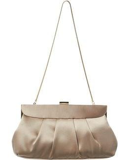Cara Satin Clutch Bag