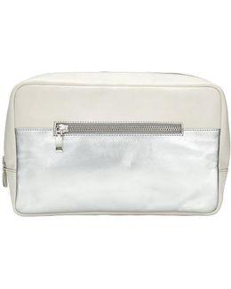 Leather Wash Bag