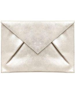 Samara Suede Clutch Bag