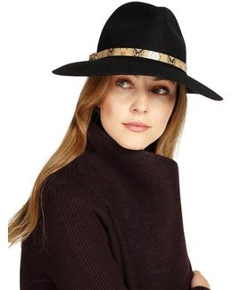 Jessica Wool Fedora Hat