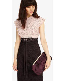 Fifi Satin Clutch Bag