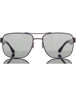 Square Double Bridge Sunglasses