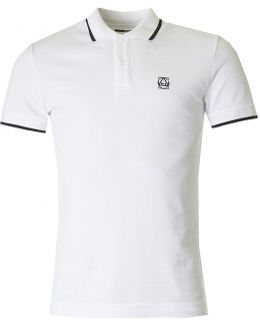 Mcq Short Sleeved Logo Polo