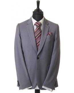 2 Button Slim Fit Wool Mohair Suit