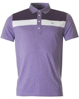 M Cory Lux Jersey Polo
