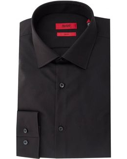 C-jenno Slim Fit Cutaway Collar Shirt
