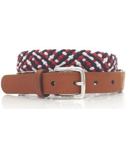 Bliss Braided Leather Belt
