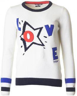 Hamora Statement Love Knit