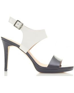 Claudia Mid Heel Sandals