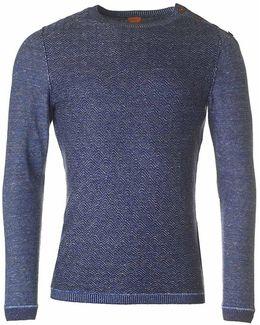 Akert Shoulder Button Knit