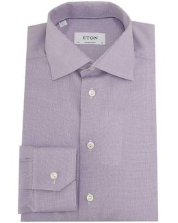 Cambridge Twill Structured Weave Shirt