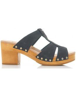 Jennie Clog Style Slip On Sandals