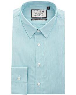 Herland Super Slim Featherstripe Shirt