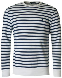 Striped Crew Neck Sweat