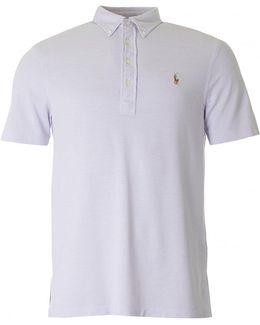Fashion Fit Button Down Collar Polo