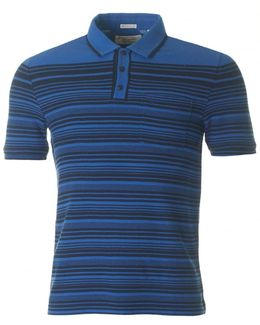 Short Sleeved Engineered Polo